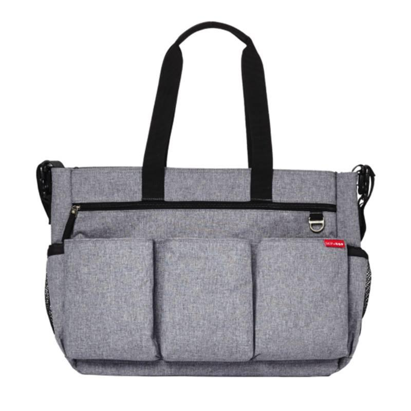 Pa_alera Bolsa Duo Doble Signature Heather Gris Skip Hop