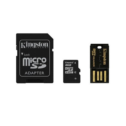 Multi Kit Adaptador Micro Sd 8gb Mbly4g2/8gb Kingston