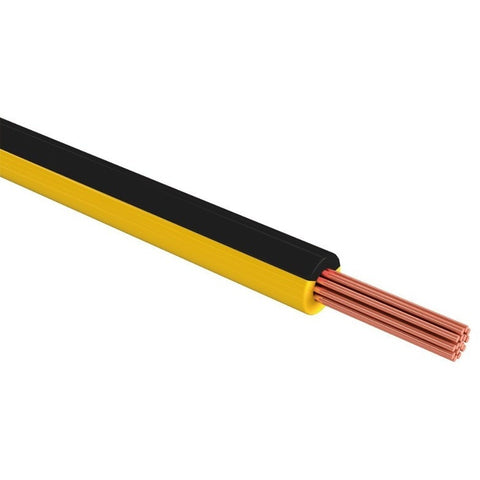 1 Piezas Cable THW cal 10 color negro  rollo 100m SANELEC