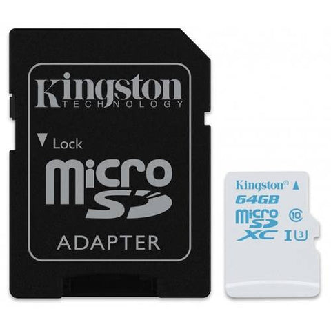 Memoria Flash 64gb Micro Sdxc Accion Sdcac/64gb Kingston