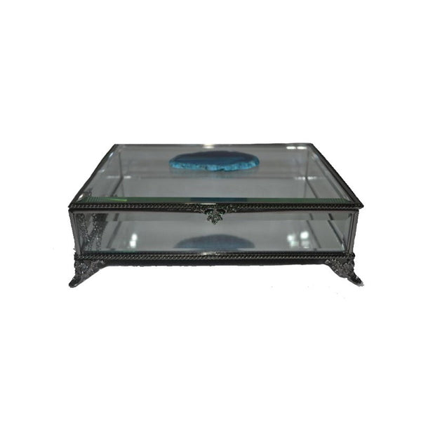 Caja Decorativa 2 Transparente Decoracion Mueble BM Home BMH12011