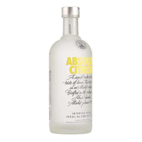 Absolut Citron Vodka 750 ML