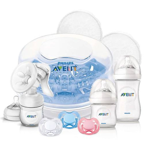 Kit Primeros Comiezos Philips Avent Natural Biberon