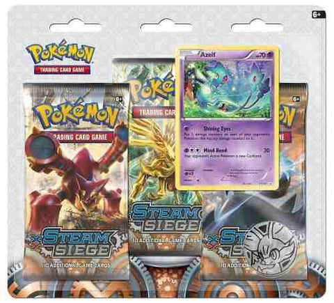 3 Pack Sobres Tarjetas Pokemon Trading Card Steam Siege Xy