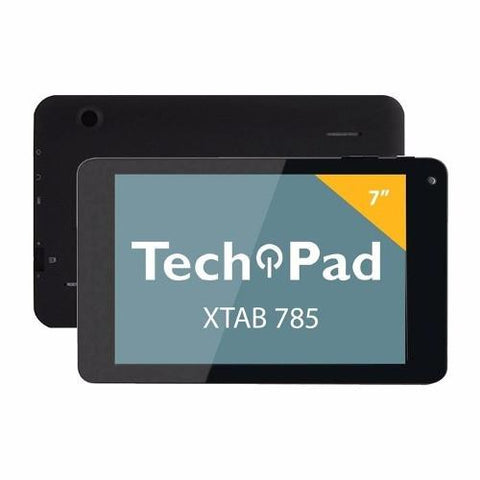Tablet Xtab 785 Dual Core 7 Pulg Android 4.4 Negro Techpad-