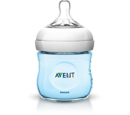 Biberon Philips Avent SCF692/17 Natural PP 4oz Azul