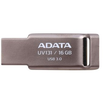 Memoria USB Adata UV131 16GB USB 3.0 Color Gris Metalico