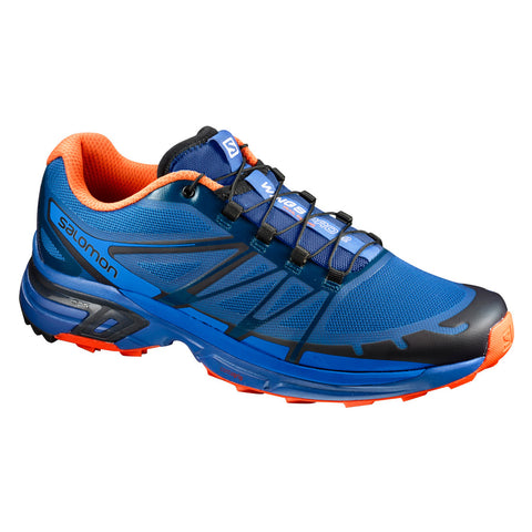 Tenis Hombre Trail Running Salomon Correr Azul WINGS PRO 2