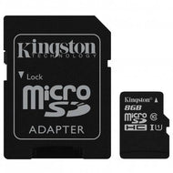 Memoria Micro Sd de 8GB a 128GB Clase 10 con Adaptador Kingston