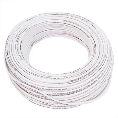 Cable Electrico Flexible Argos Calibre 10 Twc 10 100m Blanco