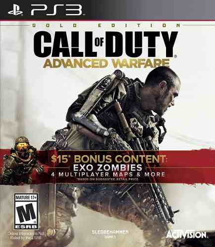 Videojuego Call Of Duty Advanced Warfare Gold Ps3 Activision