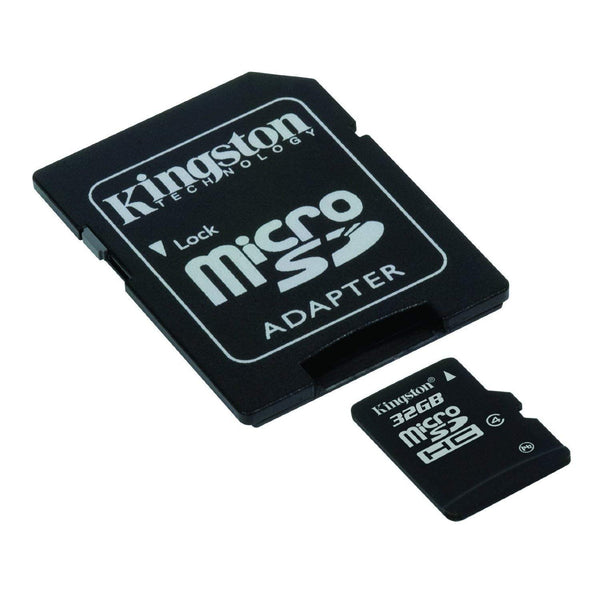 Kingston Memoria Micro Sd hc 32gb UHS-I CL10 celulares 80mb