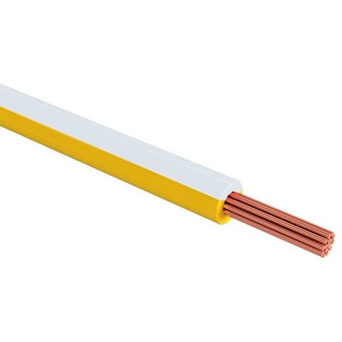 1 Piezas Cable THW cal. 12 color blanco SANELEC