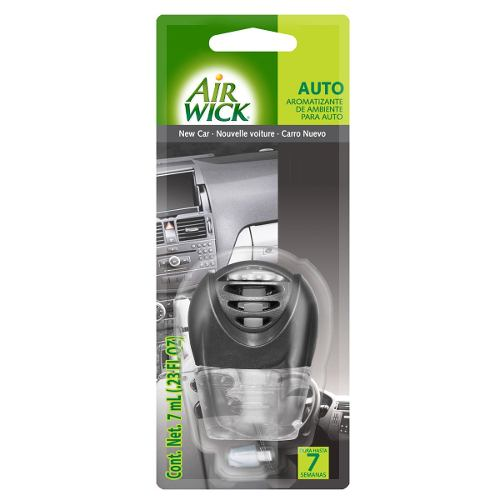 Air Wick Aromatizante Para Auto 3 Ml New Car & Ocean Drive