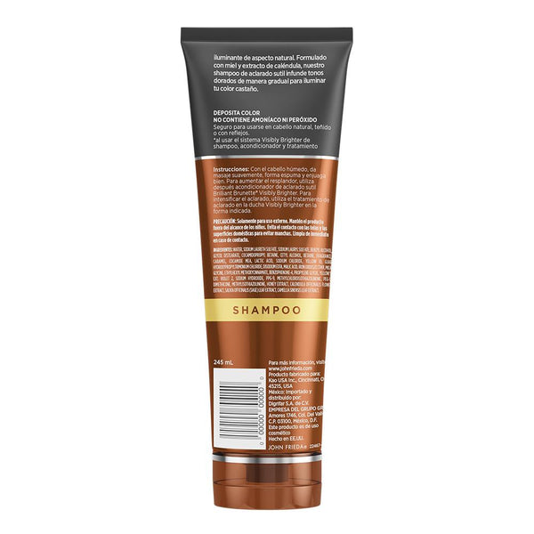 Acondicionador Brilliant Brunette V. Brighter John Frieda