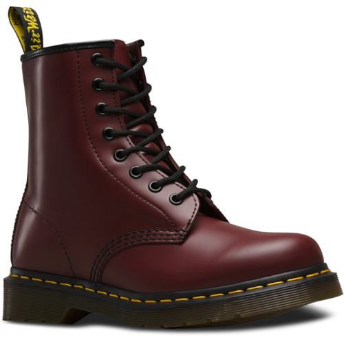 Bota Hombre Caballero 1460 Cherry Red Smooth Dr Martens