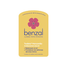 Benzal Toallet Manzanilla c/20 Pouch Pack