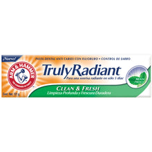 Pasta Dental Truly Radiant Clean and Fresh Arm & Hammer