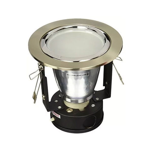 Luminaria Empotrable 3635 9W Color Satin Etco Iluminacion