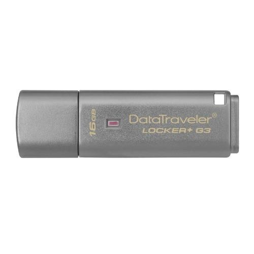 Memoria Usb Plata Locker+ G3 16gb Dtlpg3/16gb Kingston