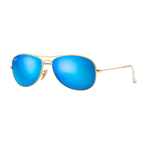 Lentes De Sol Ray Ban Cockpit RB3362 Flash Unisex