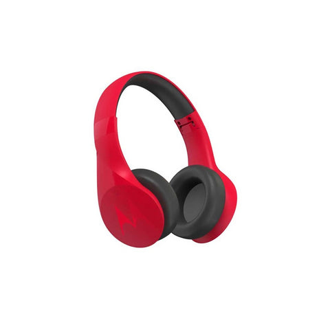 Audifonos Diadema Bluetooth Pulse Escape Rojo A Movil