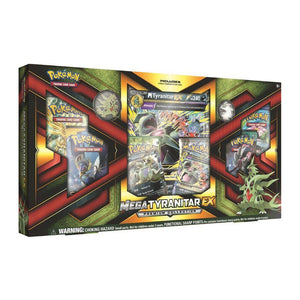 Colección Cartas Pokemon Mega Tyranitar Premium Collection