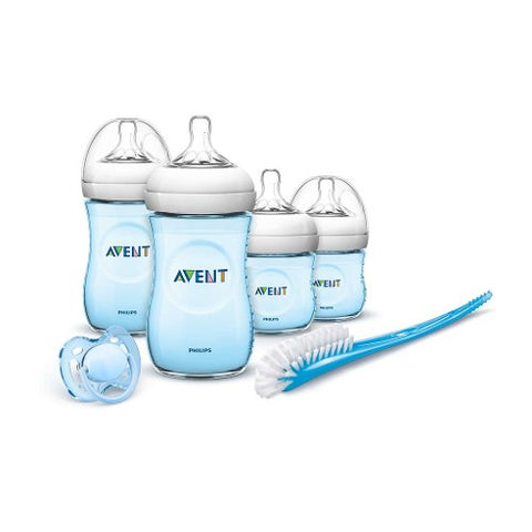 Set Recien Nacido Philips Avent SCD290/04 0-6M Natural Azul