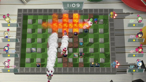 Juego Super Bomberman R Nintendo Switch 10+ E