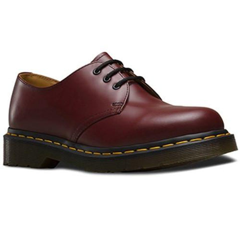 Zapato Dama 1461w Cherry Red Smooth Mujer Vino Dr Martens
