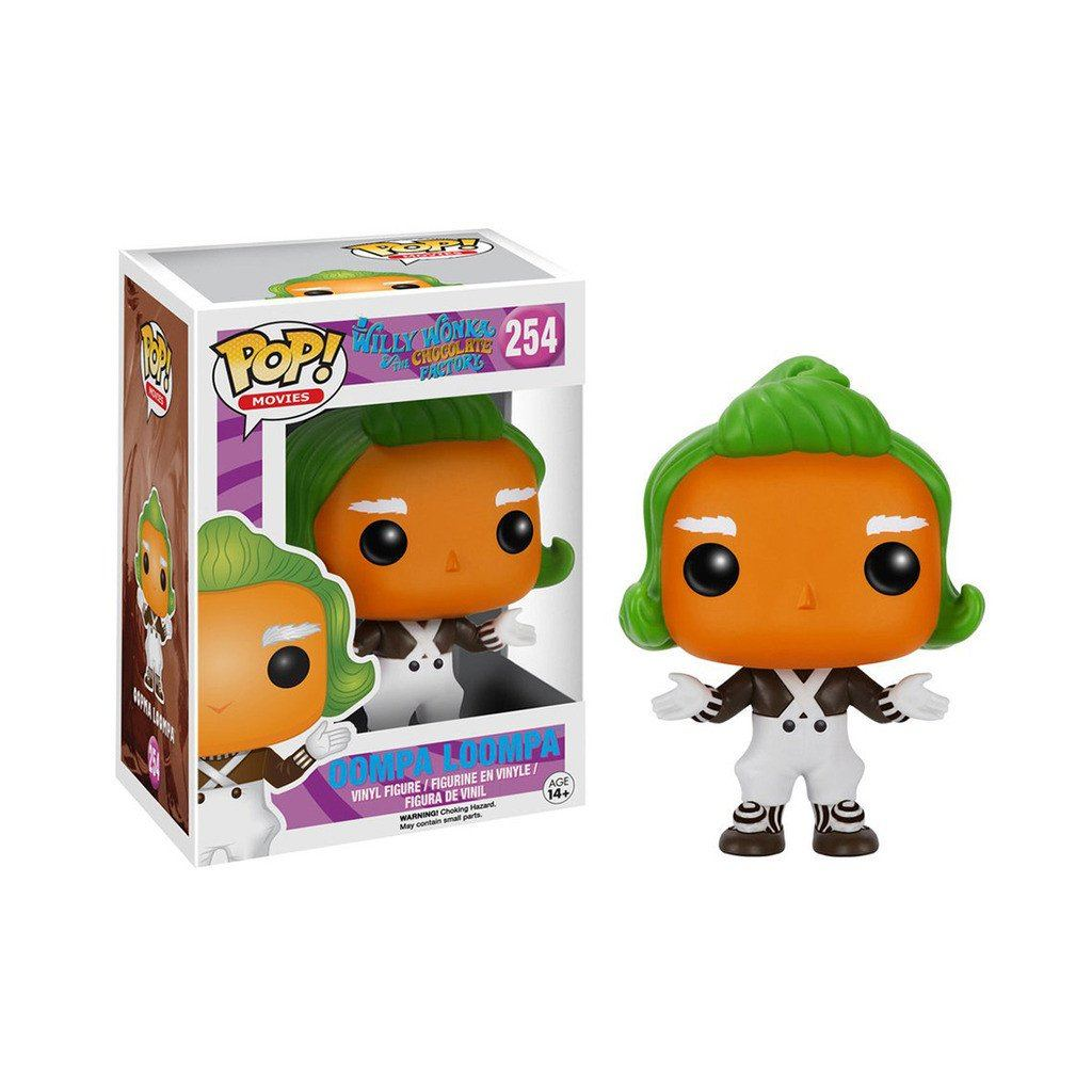 Coleccionable Funko Pop Movies Willy Wonka Oompa Lompa Funko