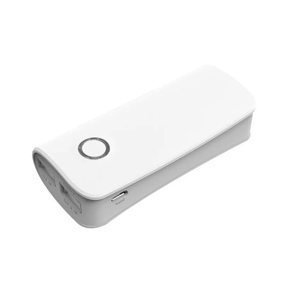 Power Bank 4500 mah Cargador Portátil Celular Blanco Thinx