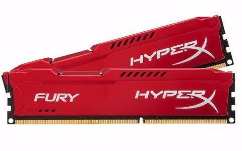 Kit Memoria Ram Ddr3 2x4 8gb 1333mhz Hyperx Fury Kingston