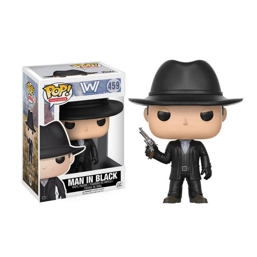 Coleccionable Funko Tv Series Westworld Man In Black Funko