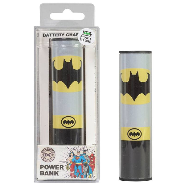 Bateria Externa Portatil Powerbank DC Batman USB Tribe