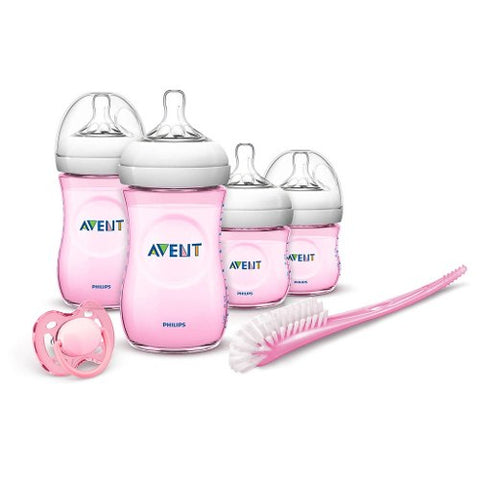 Set Recien Nacido Philips Avent SCD290/03 0-6M Natural Rosa