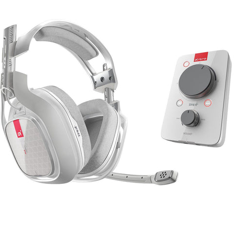 Audífonos Astro Gaming A40 TR Mixamp - Blanco - Xbox One PC MAC