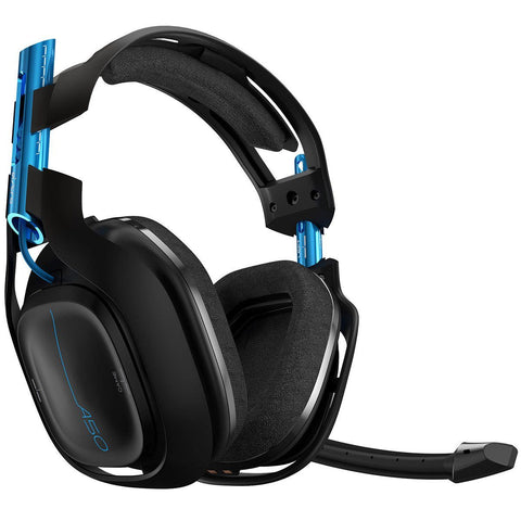 Audífonos Astro Gaming A50 Wireless Headset + Base Station - Negro - PC MAC PS4