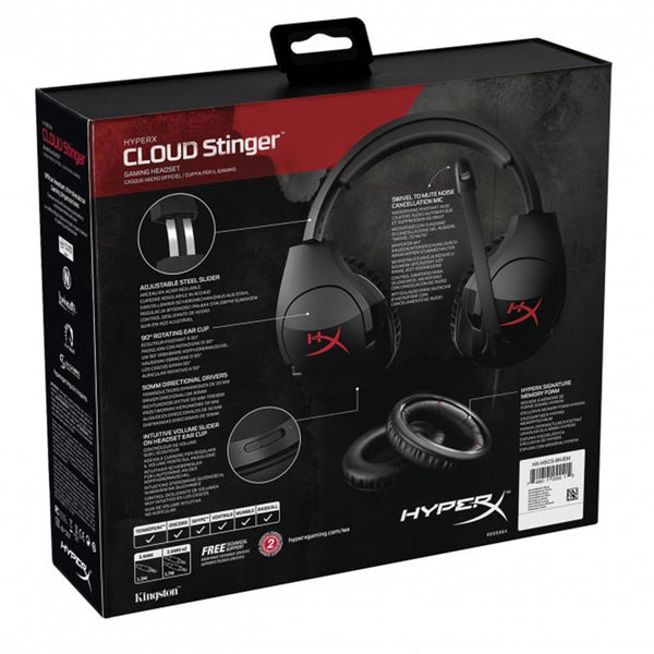 Audífonos Gaming de Diadema HyperX Cloud Stinger Kingston