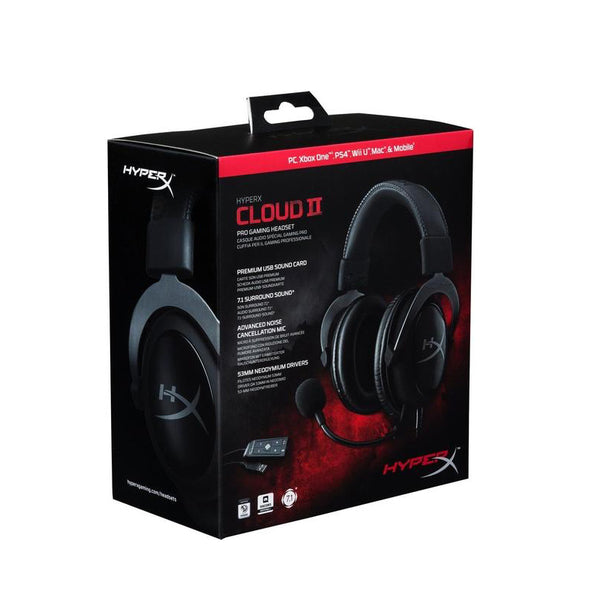 Audífonos Gaming HyperX Cloud II Headset - Kingston