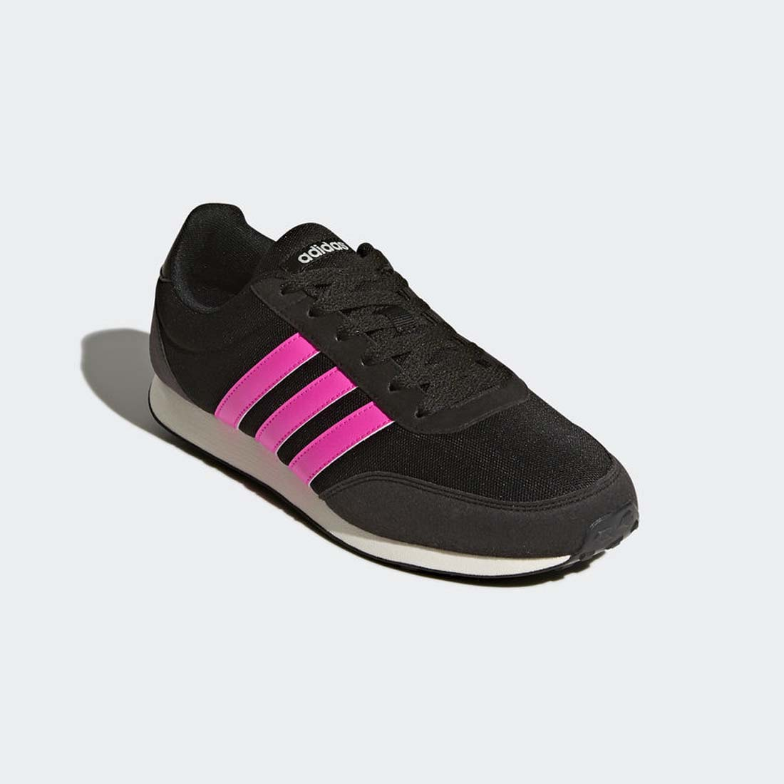 finest selection a0ef1 c679f ... Tenis Adidas Neo V Racer 2.0 Mujer Negros Gamuza BC0112 ...