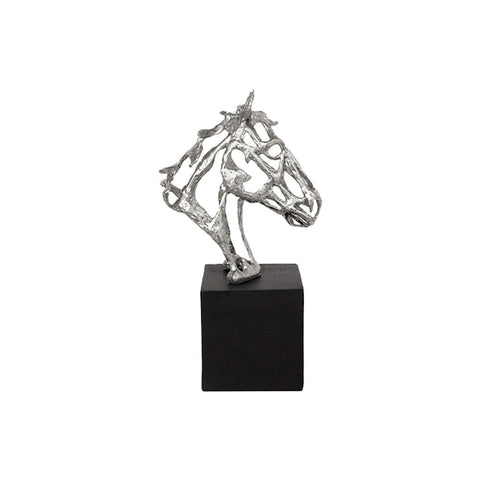 Figura Decorativa Cadbeza De Caballo Na 024 Bm Home