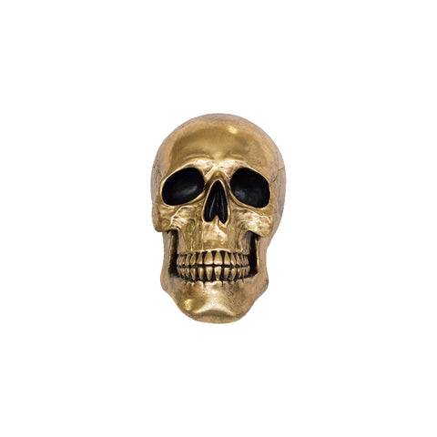 Figura Decorativa Calavera Na 026 Decorativo Bm Home