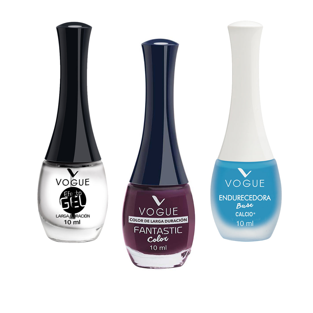 Set Esmalte Uñas Fantastic Vogue Larga Duracion+Endurecedor – Ibushak