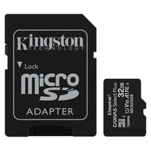 Micro SD Canvas Select Plus 100R A1 C10 32GB + ADP Kingston