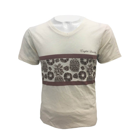 Playera Casual Hombre Amarillo Manga Corta English Laundry