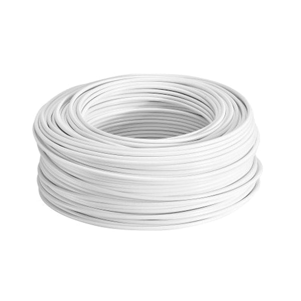 Cable Unipolar Cu12B Calibre 12 Color Blanco 100 Mts Munich