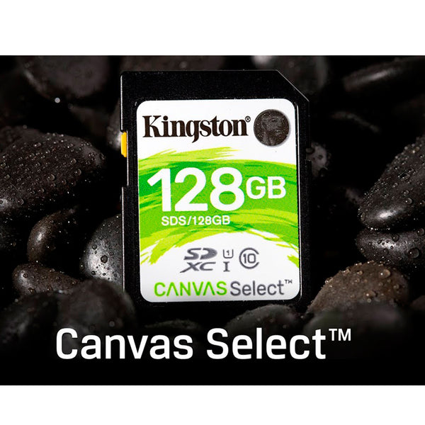 Kingston Memoria Canvas Select SD 128 GB SDHC/128