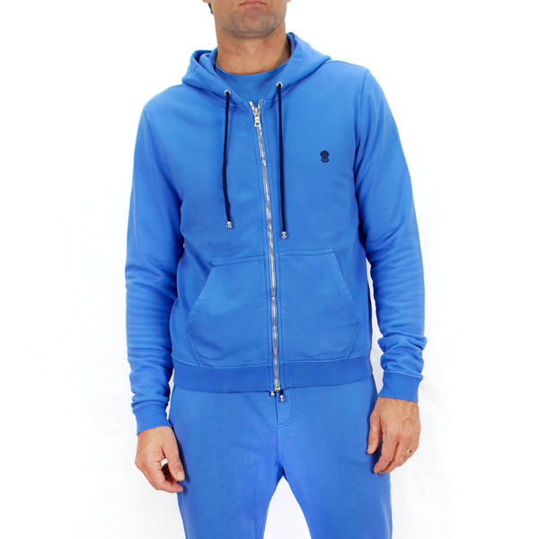 Leisure Hoodie Pool Blue