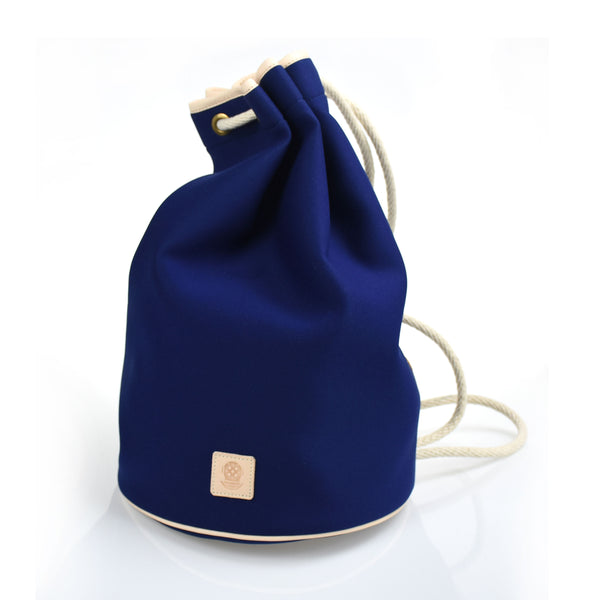 Draw String Neoprene Bag Navy